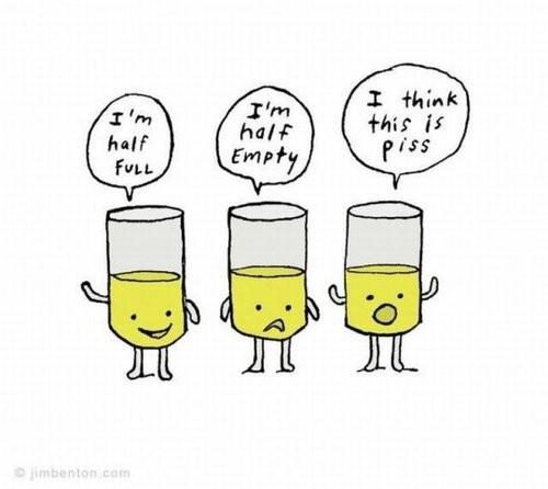 image of pessimists and optimists and accomplishments