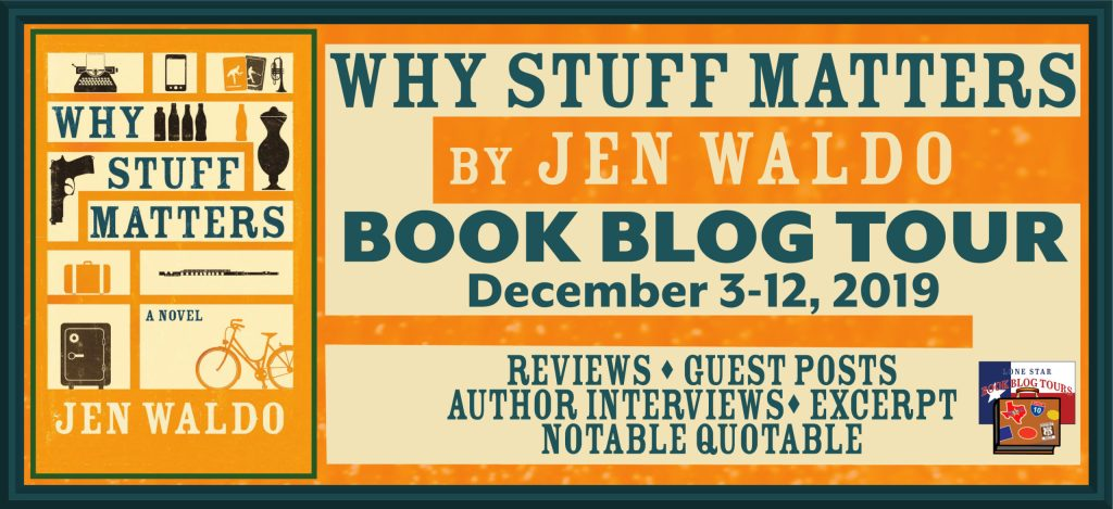 Blog Header of Why Stuff Matters Blog Tour