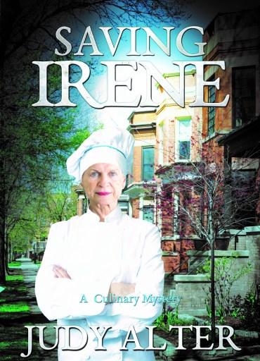 Cover image of Saving Irene