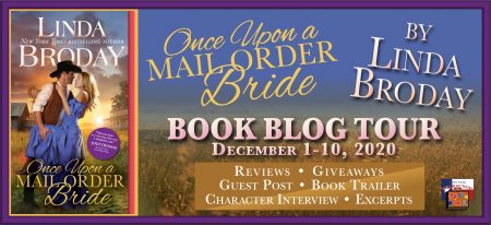 blog tour banner for Once Upon A Mail Order Bride