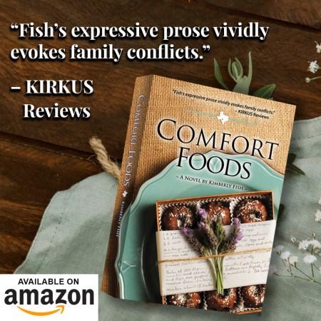 Kirkus review graphic for Comfort foods