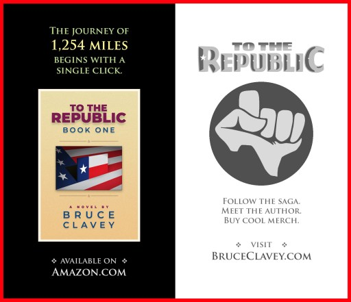 To The Republic book graphic with book cover image.