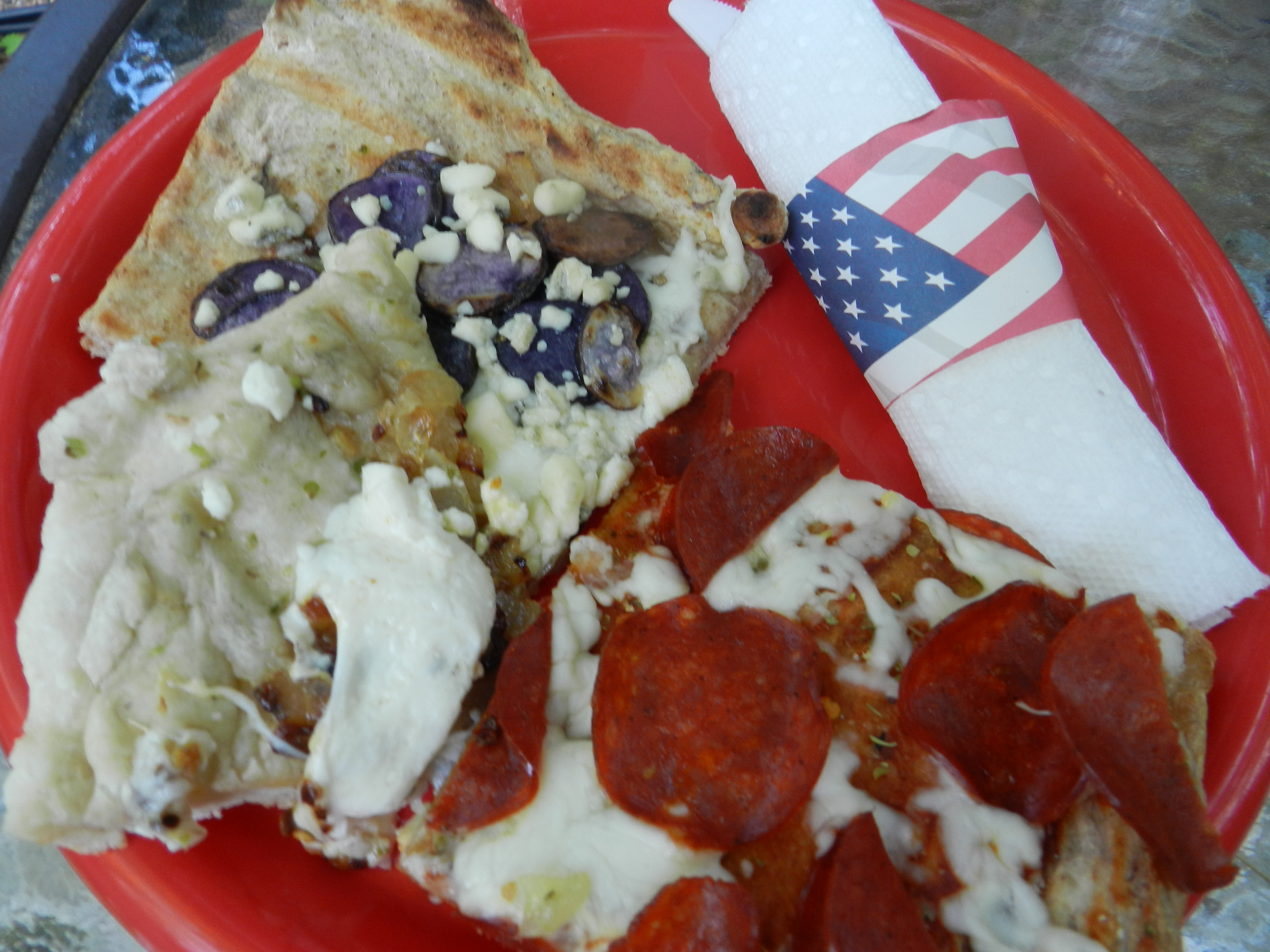 Red, White & Blue Pizza (12)
