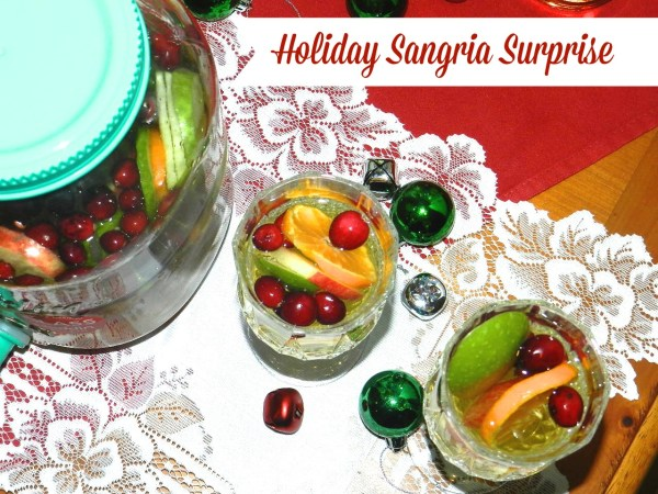 Holiday Sangria Surprise