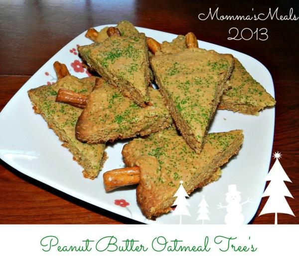 Peanut Butter Oatmeal Trees