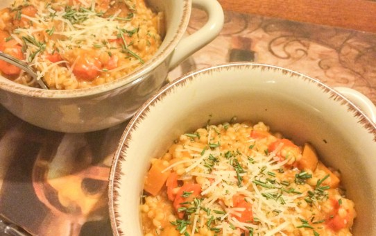 Root Vegetables, Risotto