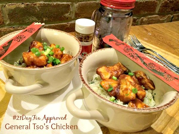 21 Day General Tso's Chicken FB