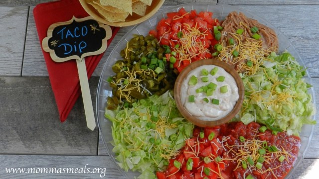 Ultimate Taco Dip FB