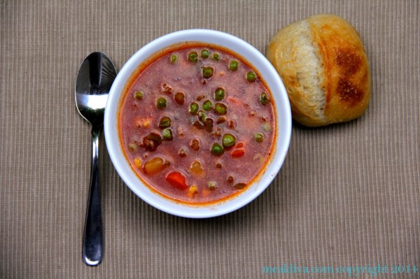 15 Minute Beef Soup