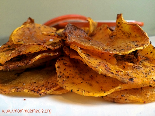 Chipotle Sweet Potato Chips