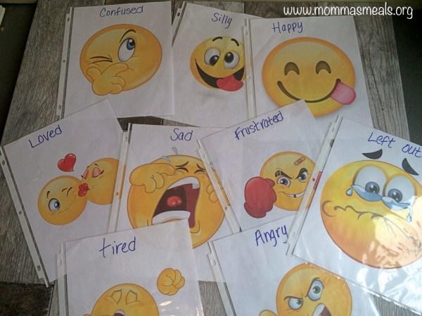 Feelings Flashcards FB