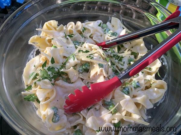 Healthier Parmesan Noodles