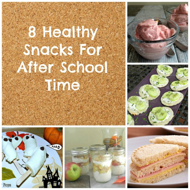 8 Healthy Snacks For After School Time