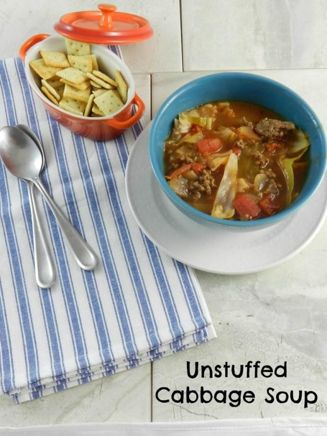 Unstuffed Cabbage Soup