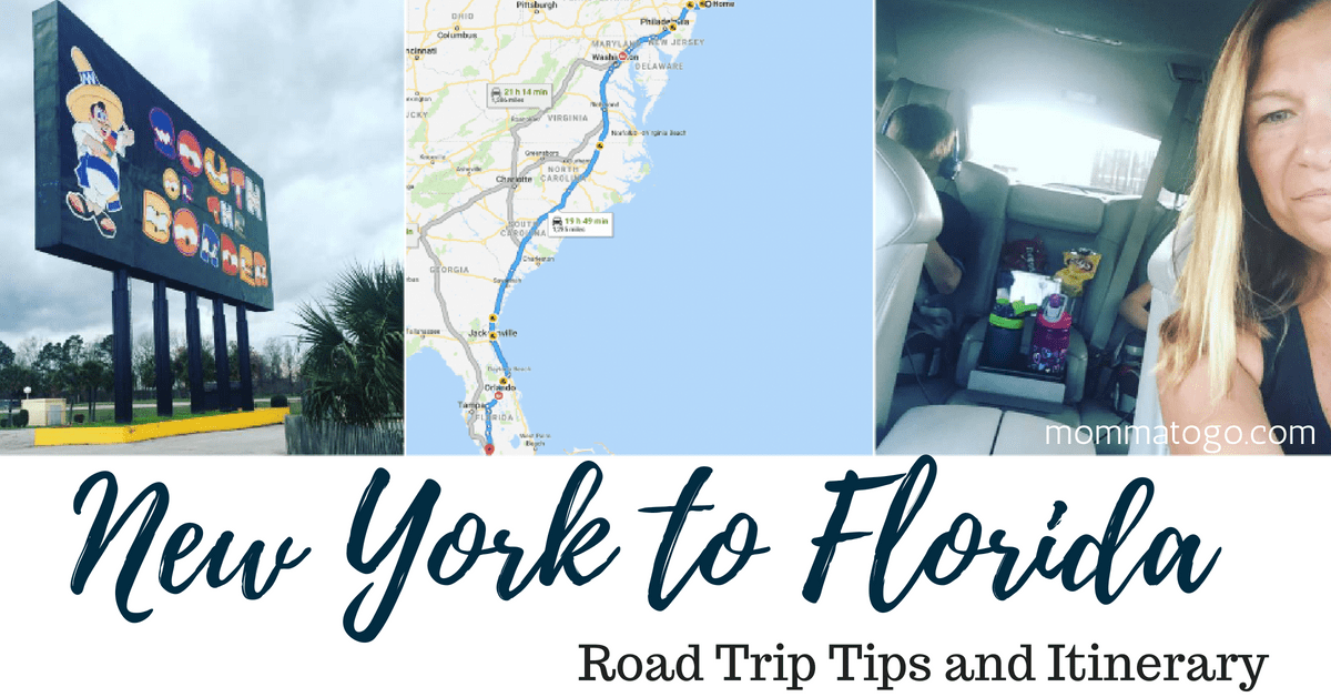 New York To Florida Drive >> Best Tips For Your New York To Florida Drive Momma To Go