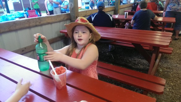 Watermelon and a cowgirl hat...perfect.
