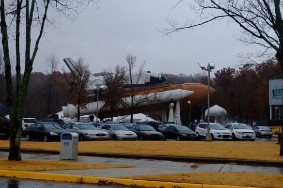 A space shuttle is always impressive.