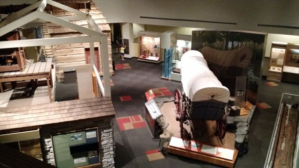 Wagons and houses and exhibits...oh my.