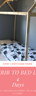 Switching From Crib to Toddler Bed in 4 Days