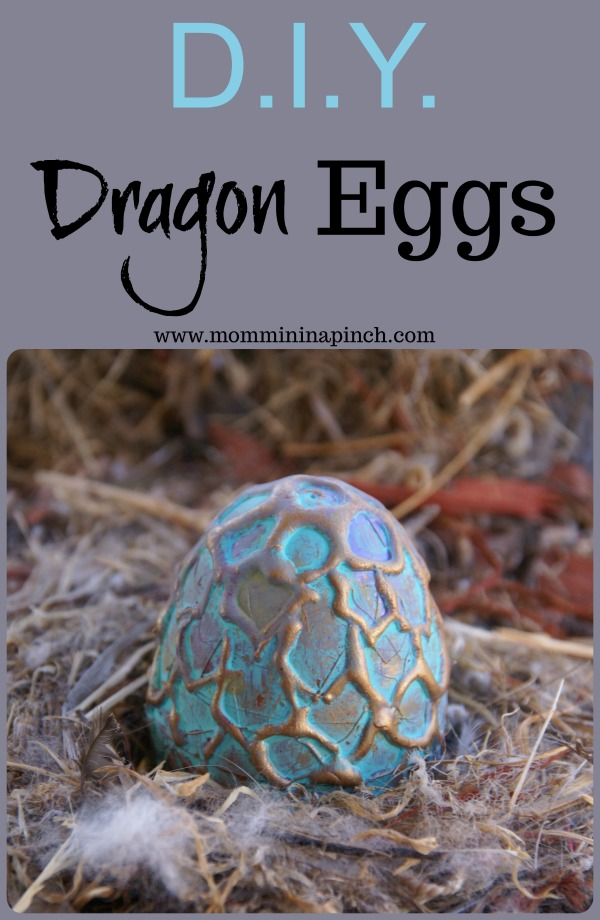 Dragon eggs-Make your own dragon eggs for party favors or a gift for that dragon lover. www.mommininapinch.com #dragons #dragonegg