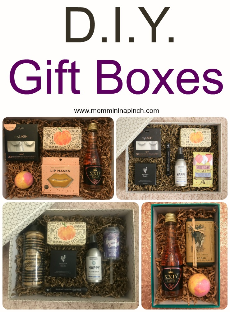Diy Gift Box- Create Amazing Gift Boxes- www.mommininapinch.com #Gift Boxes
