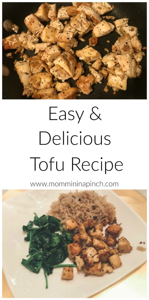 Easy and Delicious Tofu recipe- http://www.mommininapinch.com/easy-and-delicious-tofu/ #veganrecipes #tofurecipe