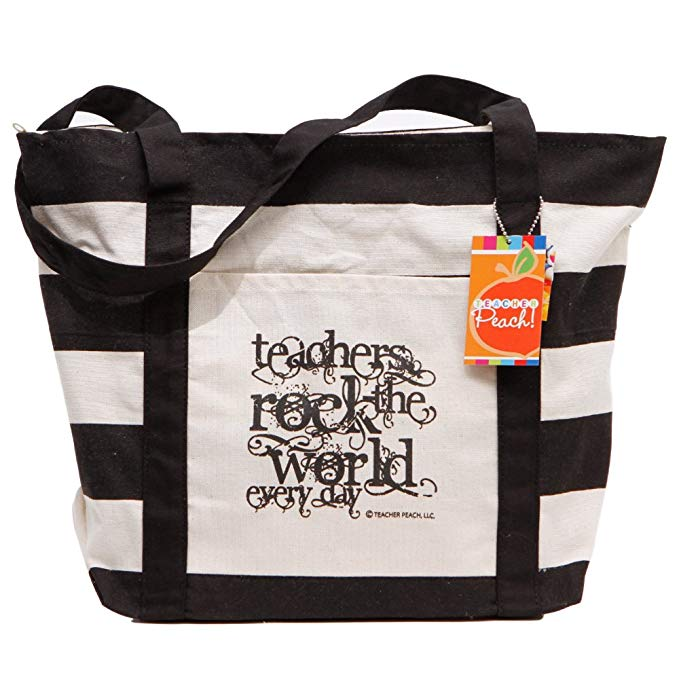 beach bag teacher gift - www.mommininapinch.com #teachergifts