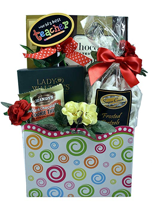 #1 teacher gift basket- www.mommininapinch.com #teachergifts