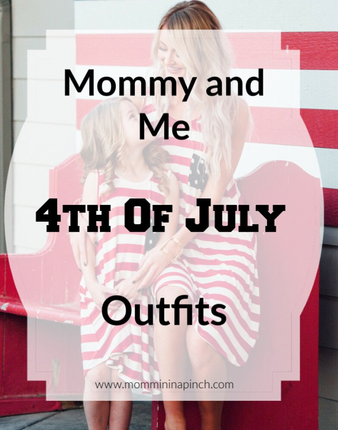 Mommy and Me 4th of July outfits- www.mommininapinch.com