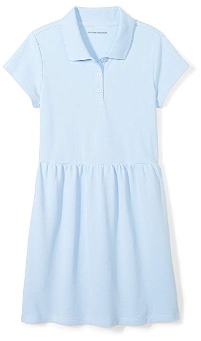 Affordable girls school uniforms polo dress