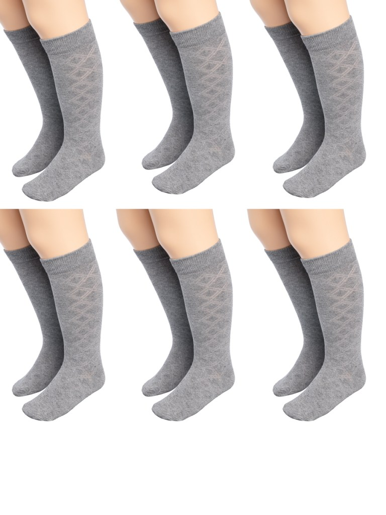 Affordable girls school uniforms knee high socks