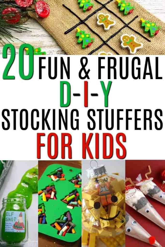 20 Fun Frugal Diy Stocking Stuffers For Kids