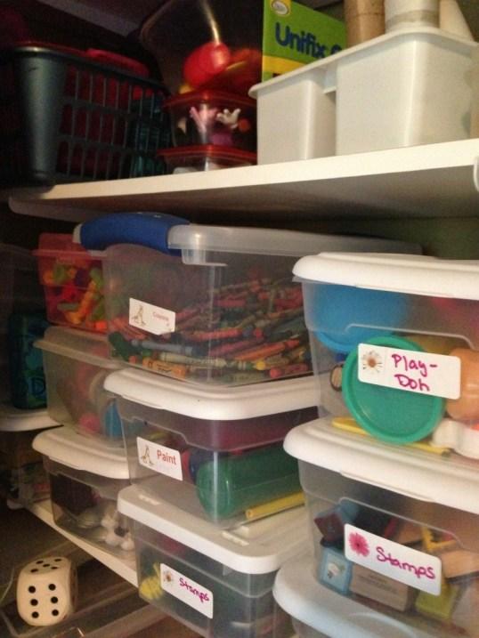 School-Supply Storage