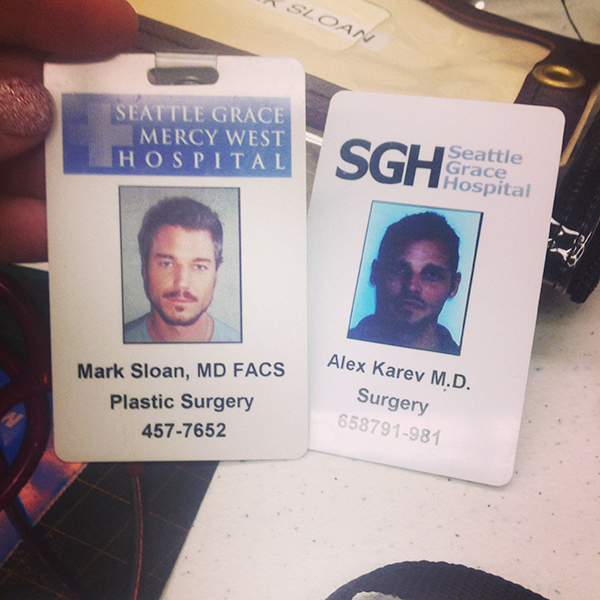 On The Set Of Grey's Anatomy Part Two (#ABCTVEvent)