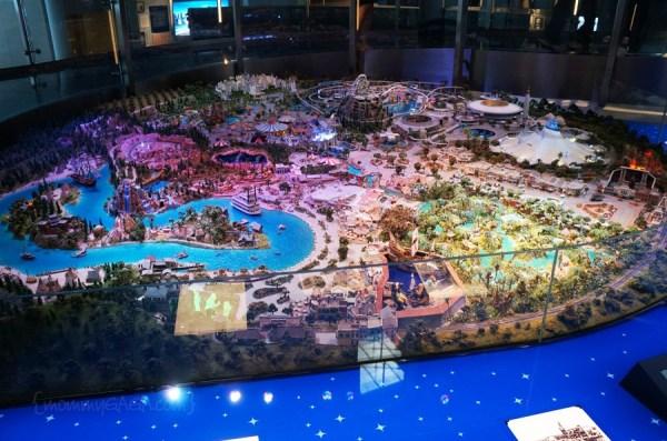Early Concept Model of Disneyland, Walt Disney Family Museum