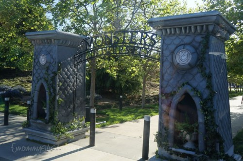 Monsters University Entrance, Disney Pixar HQ