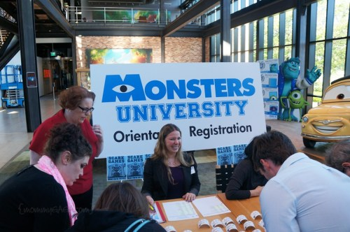 Orientation at Monsters University