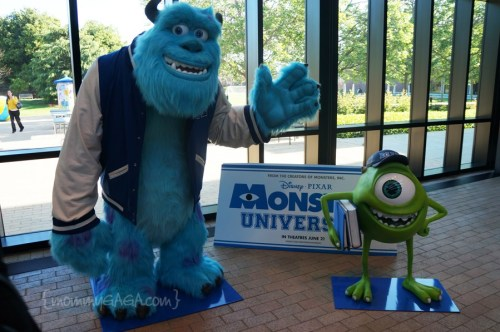 Sulley and Mike, Monsters University