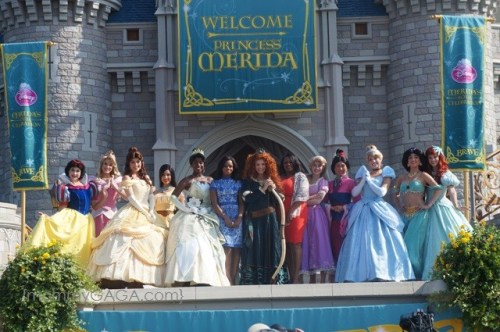 All Disney Princesses, Merida inducted into Princess Royal  Court