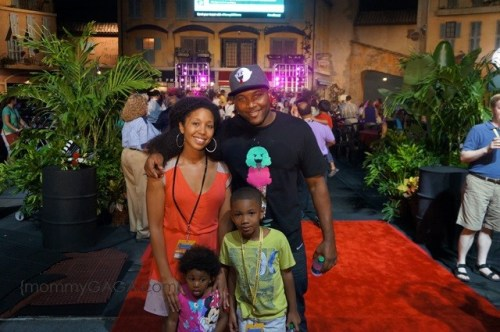 MY family at Disney Red Carpet Social