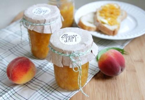Peach Jam preserves