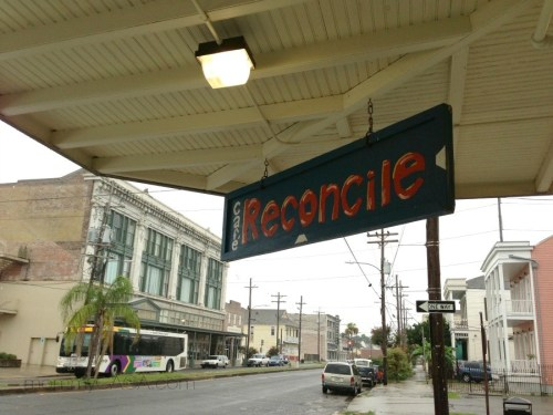 Cafe Reconcile, Central City, New Orleans