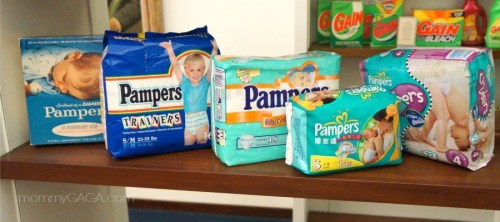 History of Pampers Diapers, P&G Archives Cincinnati, OH