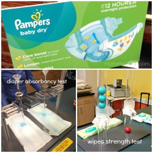 Pampers Diapers and Wipes Tests versus other brands