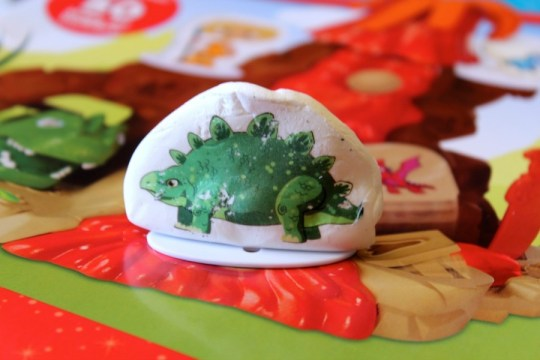 dinosaur tattoo on Magic Fun Dough