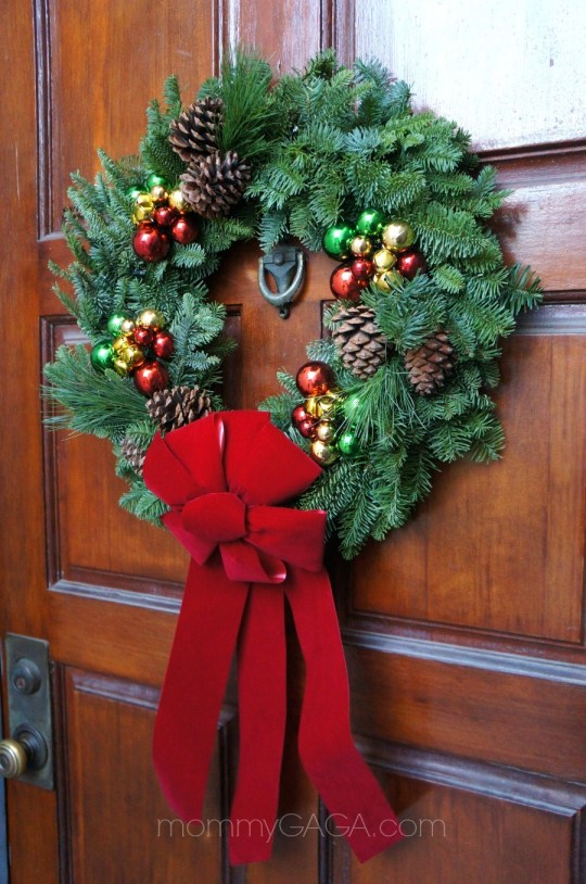 Christmas Forest Live Holiday Wreath