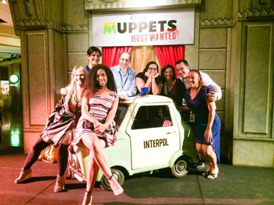 Bloggers at the Muppets Most Wanted Premiere