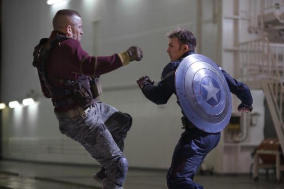 Fight scene, Captain America The Winter Soldier