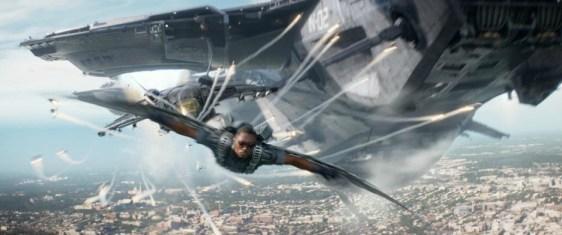 Anthony Mackie, Falcon, Captain America