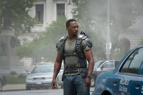 Anthony Mackie as The Falcon, Captain America, The Winter Soldier